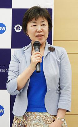 齋藤訓子副会長_20190618_日看協記者会見