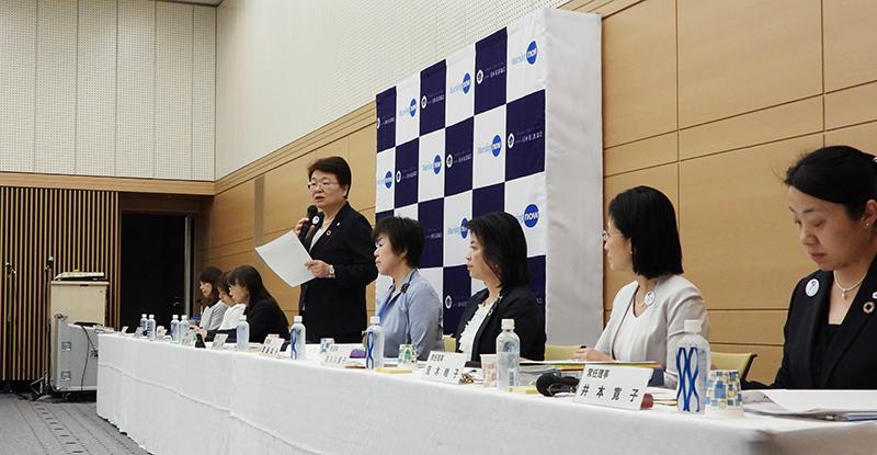 福井トシ子会長_20190618_日看協記者会見