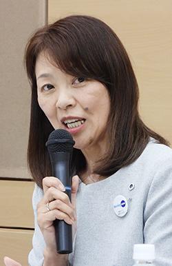 岡島さおり常任理事_20190618_日看協記者会見