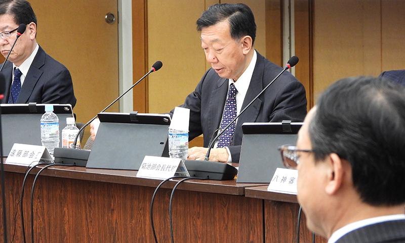 遠藤久夫部会長(国立社会保障・人口問題研究所所長)_20200326_医療保険部会