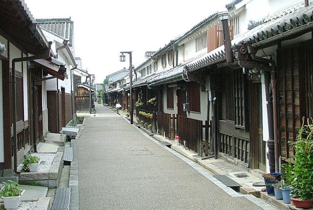 今井町の街並み