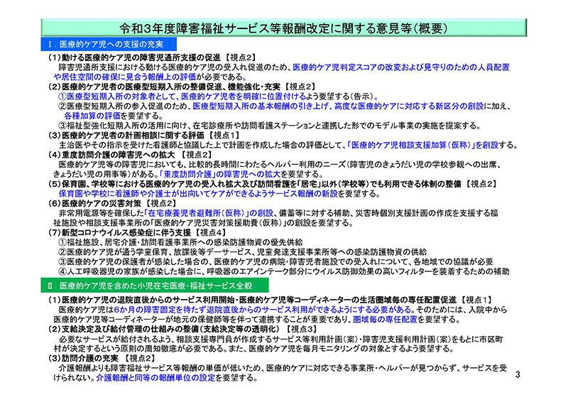 03_【ヒアリング資料1】日本医師会_20200730障害福祉サービス等報酬検討チーム