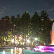 日比谷公園の噴水_2020年11月11日