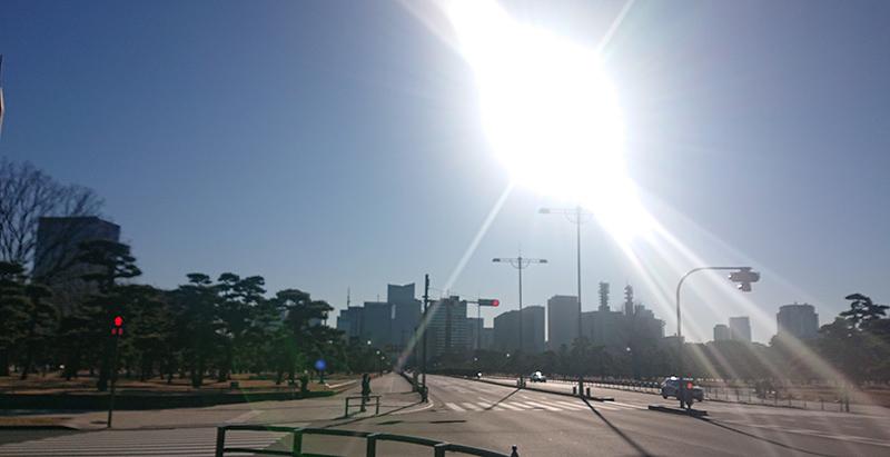 和田倉公園前_2021年1月10日