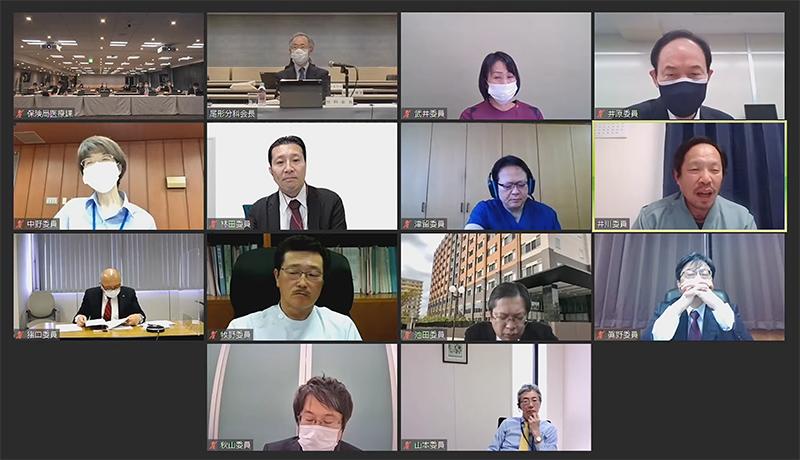 2021年4月28日_入院分科会(オンライン開催)