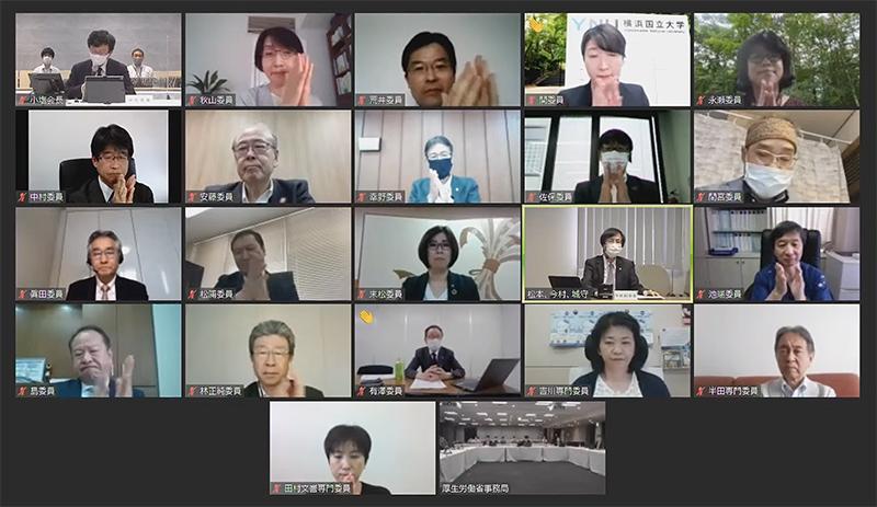 2021年5月26日の中医協総会(オンライン開催)