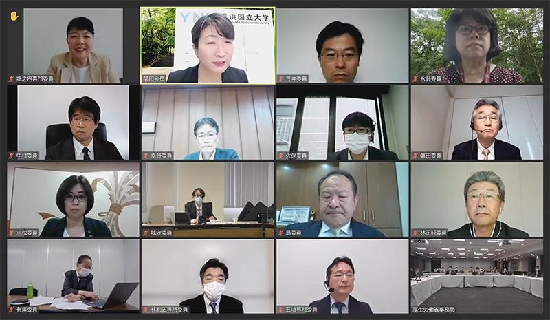 2021年5月26日の材料専門部会(オンライン開催)2