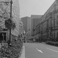 日銀通り_2021年3月26日